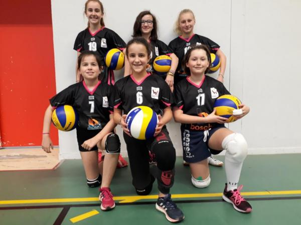 M 13 Féminin - Brocéliande Volley
