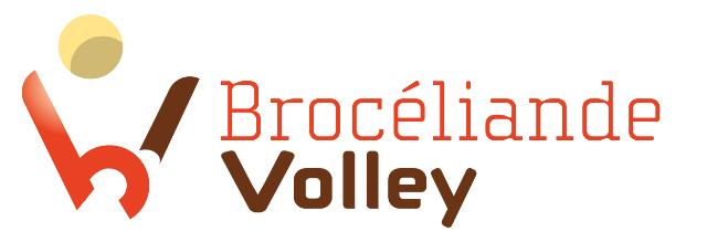 Logo Brocéliande Volley